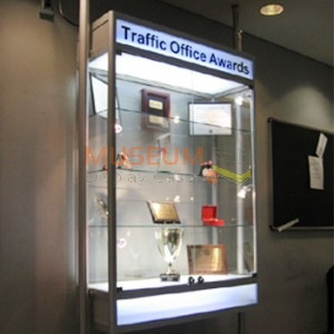 Suspended Trophy Display Case